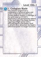 1. Grabglass Blade - Custom Card