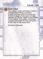 Dad Joke - Custom Card