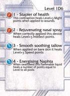 1 - Stapler Of Health - Custom Card