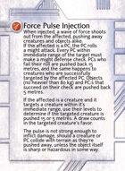 Force Pulse Injection - Custom Card