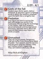 Gods Of The Fall - Custom Card