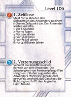 1. Zeitlinse - Custom Card