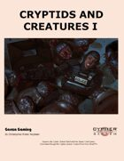 Cryptids and Creatures I
