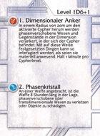 1. Dimensionaler Anker - Custom Card