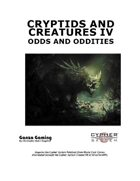 Cryptids and Creatures IV: Odds and Oddities