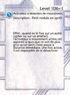 Activateur A Detection De Mouvement - Custom Card