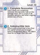 1. Complete Restoration - Custom Card
