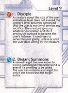 1. Disciple - Custom Card