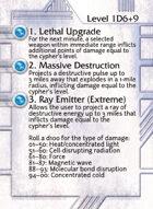 1. Lethal Upgrade - Custom Card