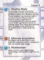 1. Shadow Body - Custom Card