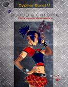 Cypher Burst 1.1 Blood & Chrome Technopunk Descriptors