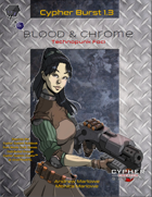 Cypher Burst 1.3 Blood & Chrome Technopunk Foci
