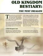Old Kingdom Bestiary: The Mist Dragon