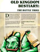 Old Kingdom Bestiary: The Battle Troll