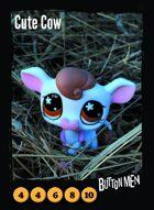 Cute Cow - Custom Card