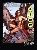 Amara Wintersword - Custom Card