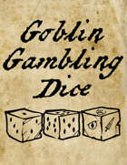 Goblin Gambling Dice - Chitubox