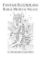 Rural Medieval Village - Fantasy Floorplans