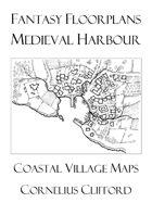 Medieval Harbour Maps - Fantasy Floorplans