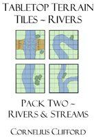 Tabletop Terrain Tiles - Rivers & Streams