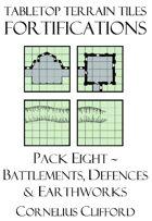 Tabletop Terrain Tiles - Fortifications