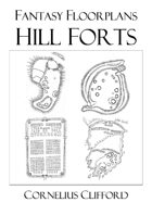 Ancient Hill Forts & Camps - Fantasy Floorplans