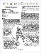 Horror Rules Book of Bad Guys #3