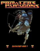 Prowlers & Paragons Quickstart Hero 7