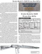 Big Bang Shootout: Breda M1935 PG Rifle