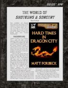 D6xD6 RPG Shotguns & Sorcery World Setting