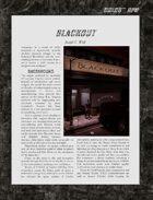D6xD6 RPG Blackout World Setting