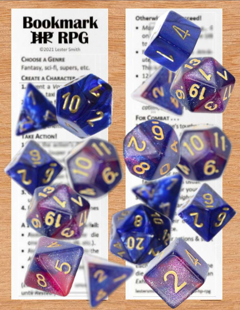 Bookmark No HP RPG