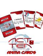 Act Ten Anima cards