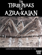 The Three Peaks of Azra-Kalan