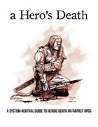 A Hero's Death, an expansion to any fantasy game