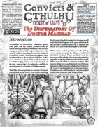Convicts & Cthulhu: Ticket of Leave #11 Un-Statted