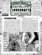 Dateline Lovecraft EXTRA! - Help Wanted (Un-Statted)