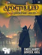 APOCTHULHU Quickstart Rules