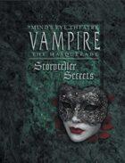 Mind's Eye Theatre: Vampire The Masquerade Storyteller Secrets