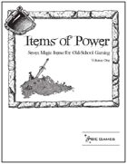 Items of Power - Volume One