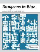 Dungeons in Blue - Set J