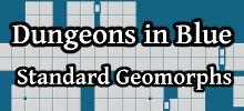 Dungeons in Blue Standard Geomorphs