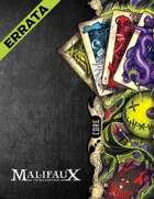 Malifaux - Core Rulebook - M3E