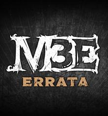 M3E Errata