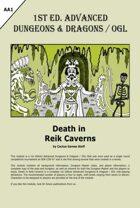 Death in Reik Caverns