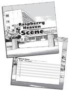 Raspberry Heaven Blank Cards