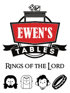 Ewen's Tables: Rings of the Lord