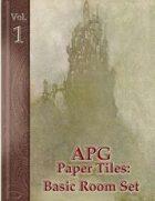 APG Paper Tiles Vol. I: Basic Room Set