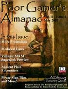 Poor Gamer's Almanac (May 2005)