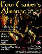 Poor Gamer's Almanac (July 2005)